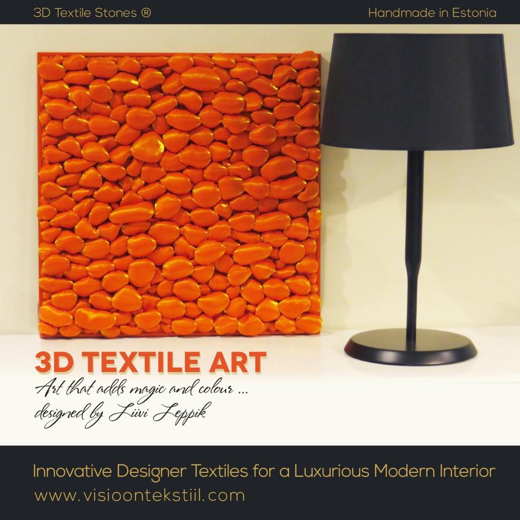 3D Textile Art by Liivi Leppik