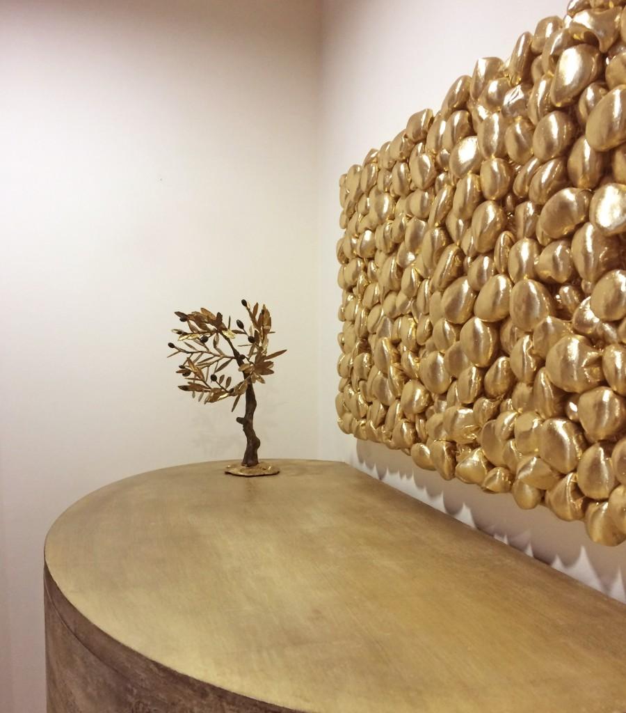 3D Kivikangas, kuldne, Liivi Leppik