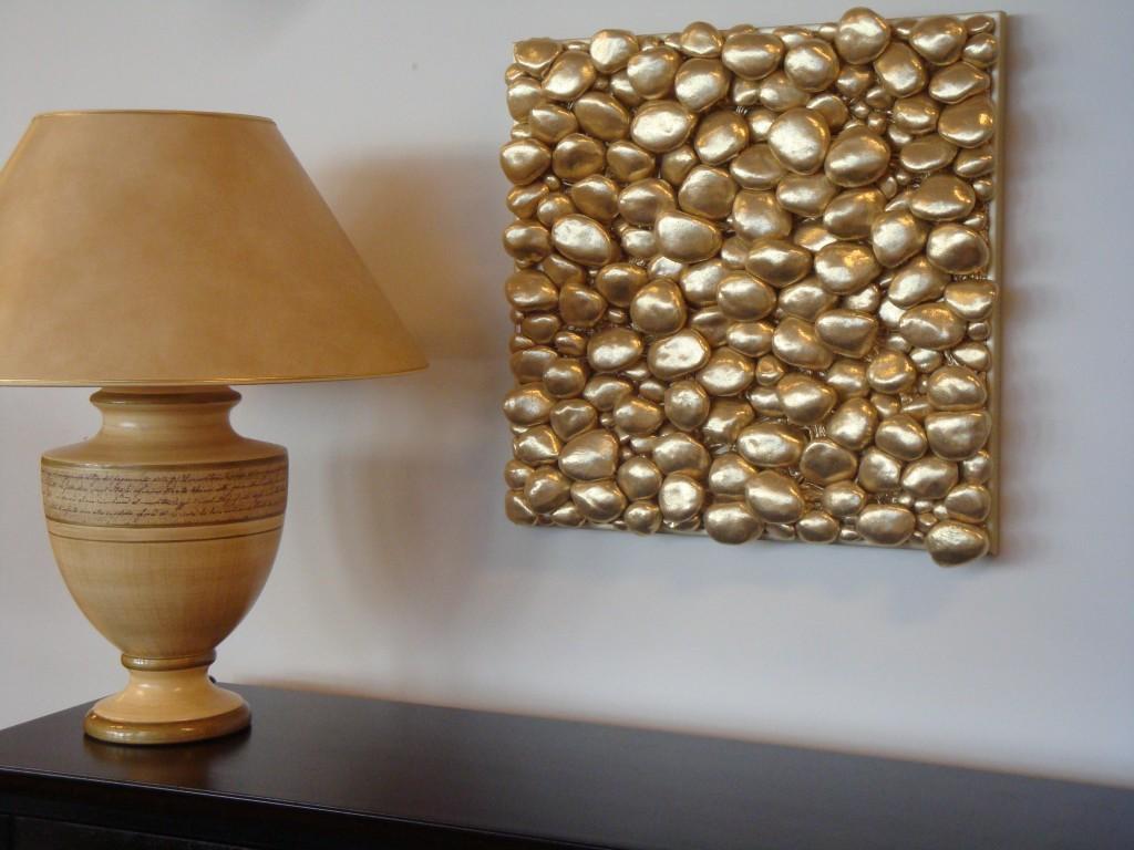 Kuldkivid interjööris