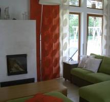 Oranzid ja beezid paneelkardinad