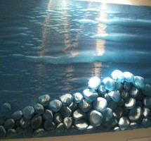 """3D-tekstiilpilt """"Päev mere ääres"""""""