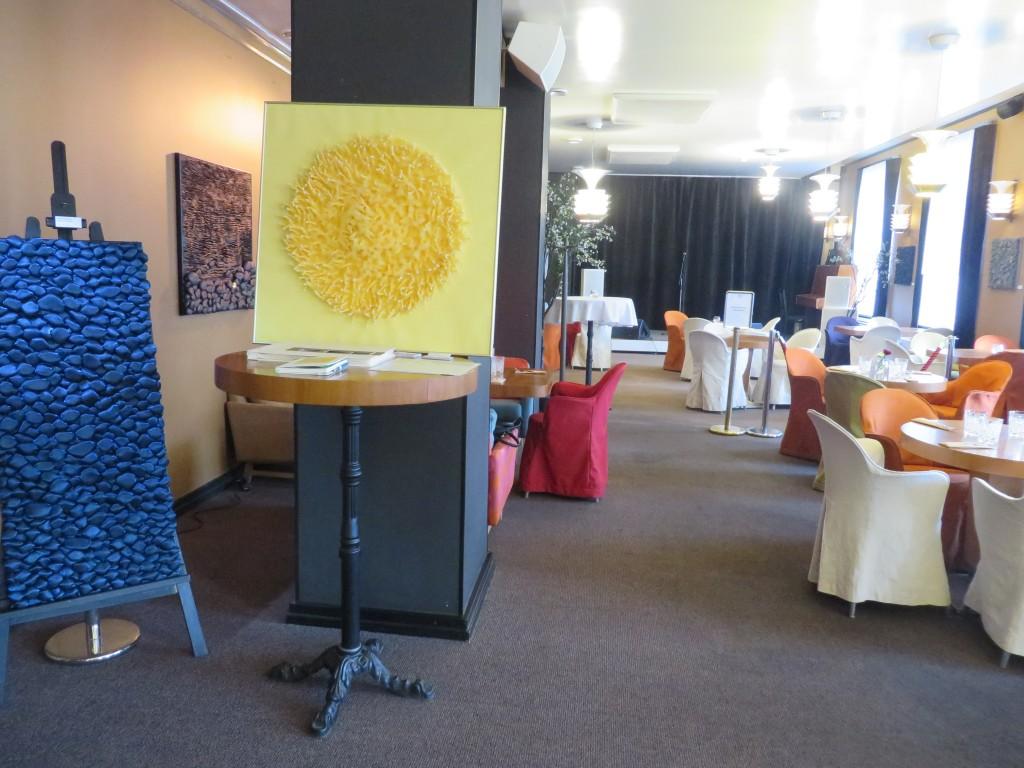 3D tekstiilpildid - Merelummuses, Lootus ja Päikesepüüdja