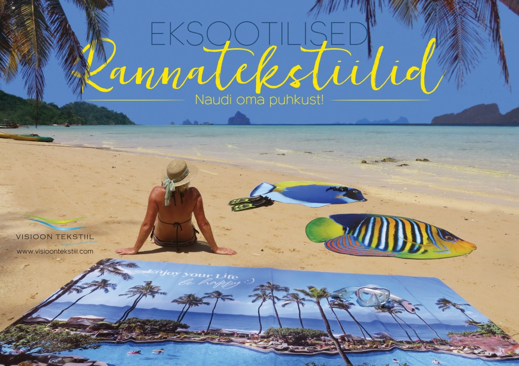 Exotic Beach Textiles by Liivi Leppik