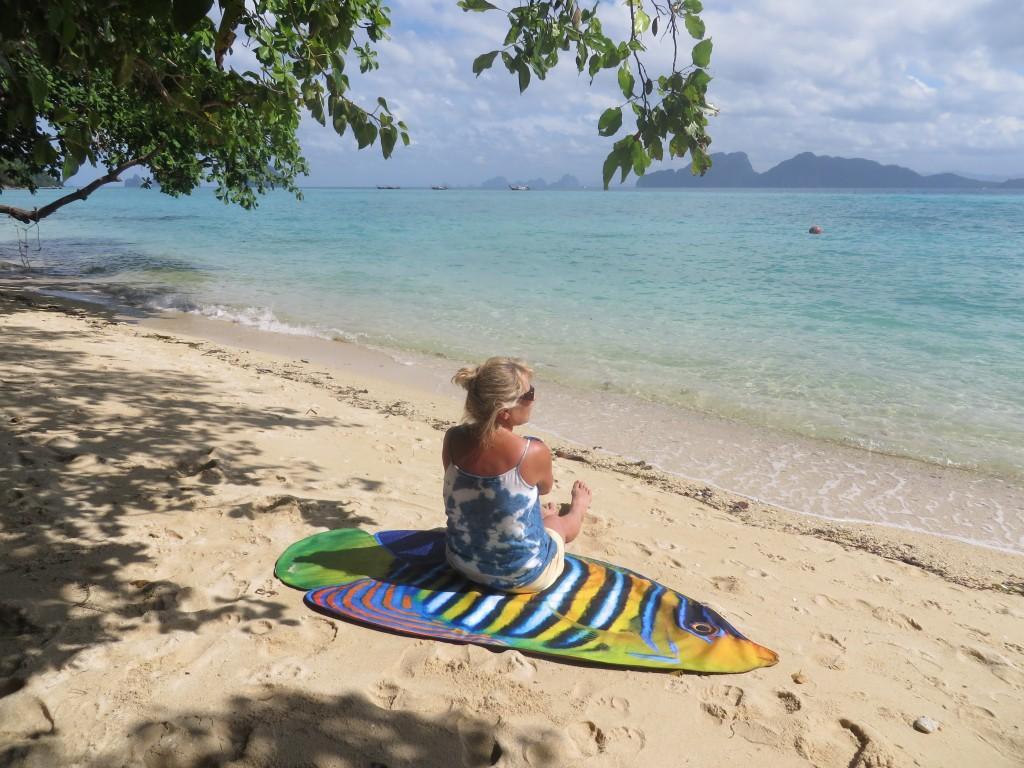 SunFish Beach Mat by Liivi Leppik