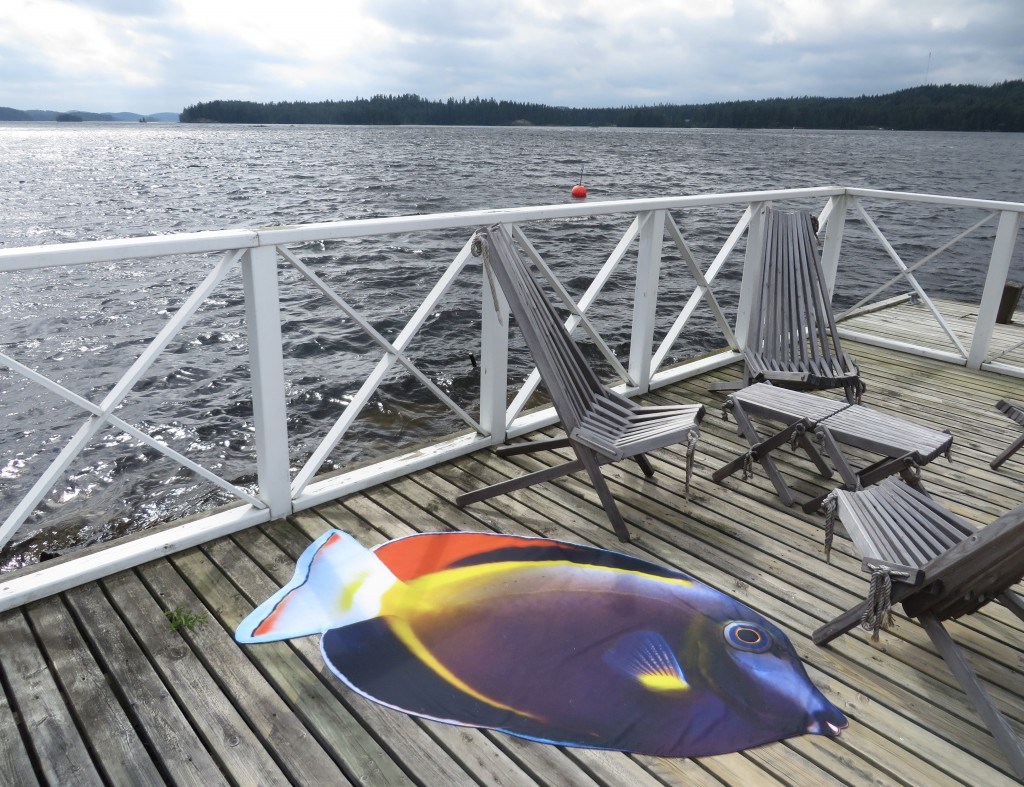 """SunFish"" Beach Textiles by Liivi Leppik"