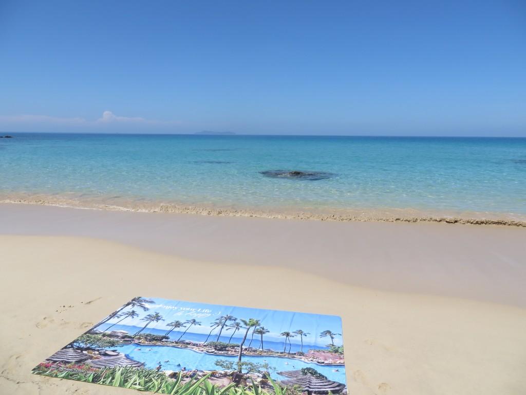 """Maui Paradise"" Beach Blanket by Liivi Leppik"