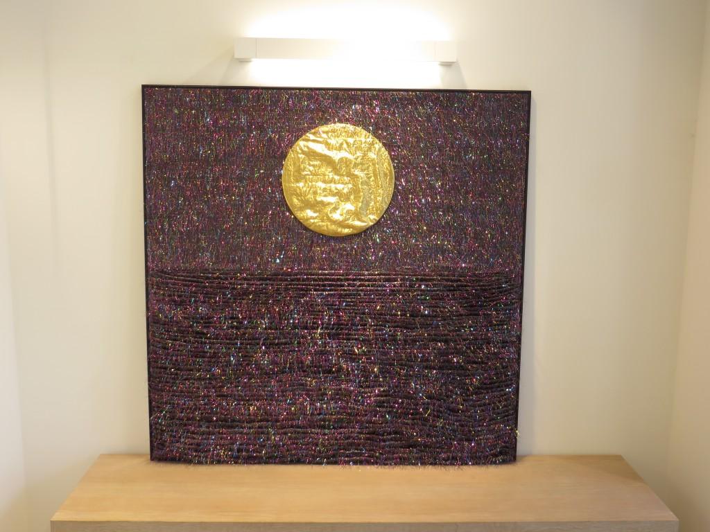 """3D Textile picture """"MoonMagic"""" by Liivi Leppik"""