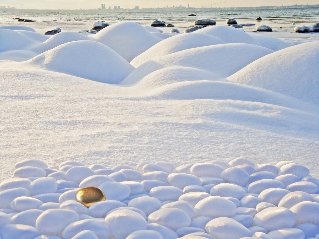 Valge kivikangas by Liivi Leppik