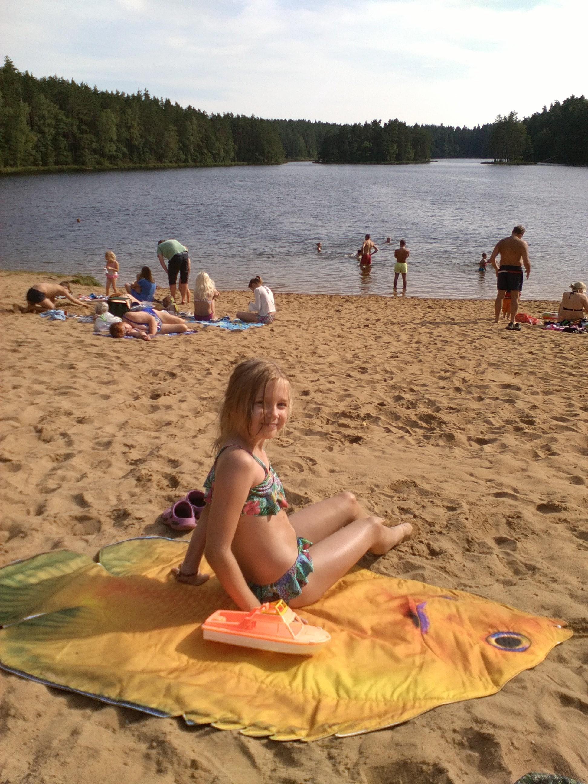 """""""Päikesekalaga"""" järve ääres"""