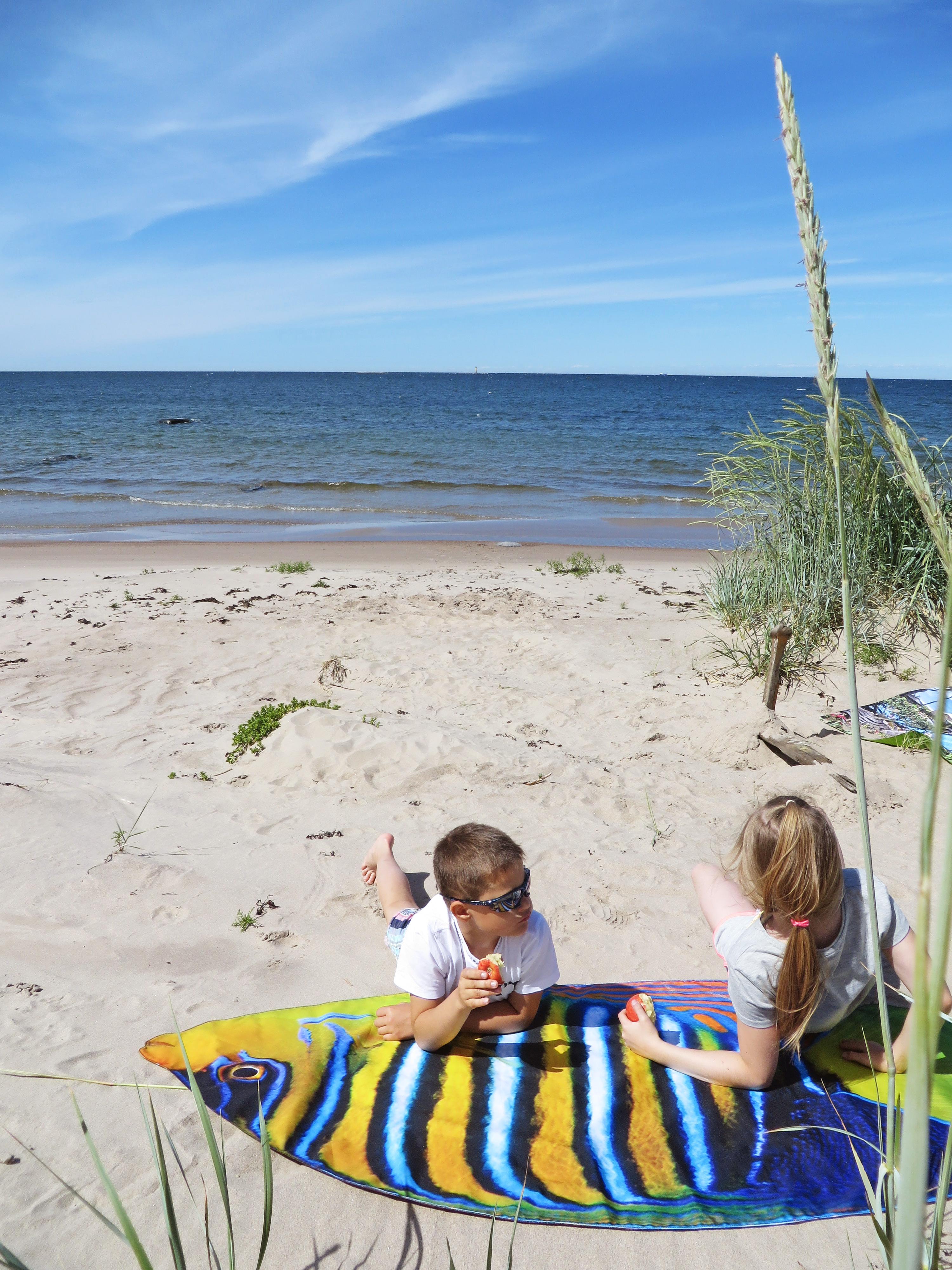 Päikesekala rannamatt, Liivi Leppik