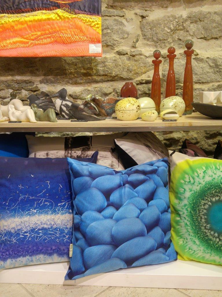 3D dekoratiivpadi, sinine, Liivi Leppik