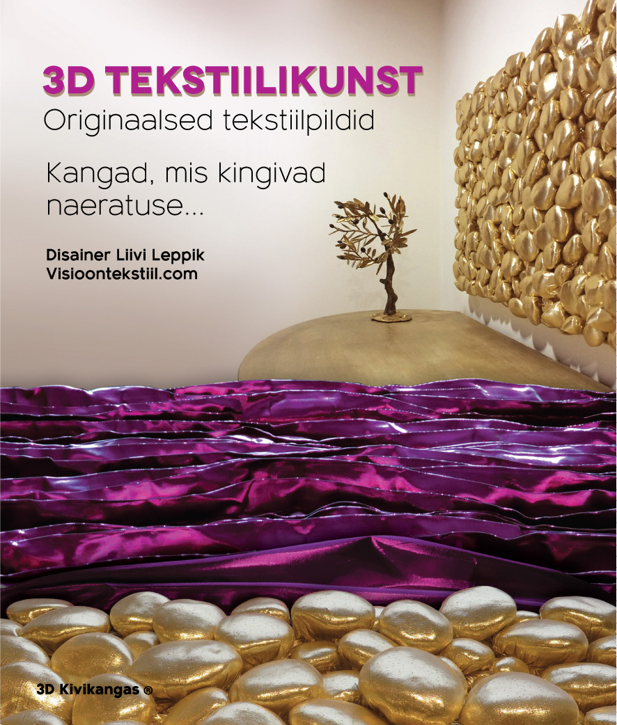 3D disaintekstiilid, Liivi Leppik