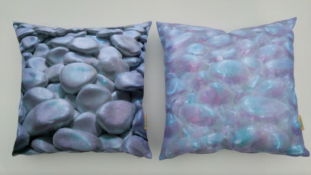 3D Textile Dream, silver and transparent, by Liivi Leppik