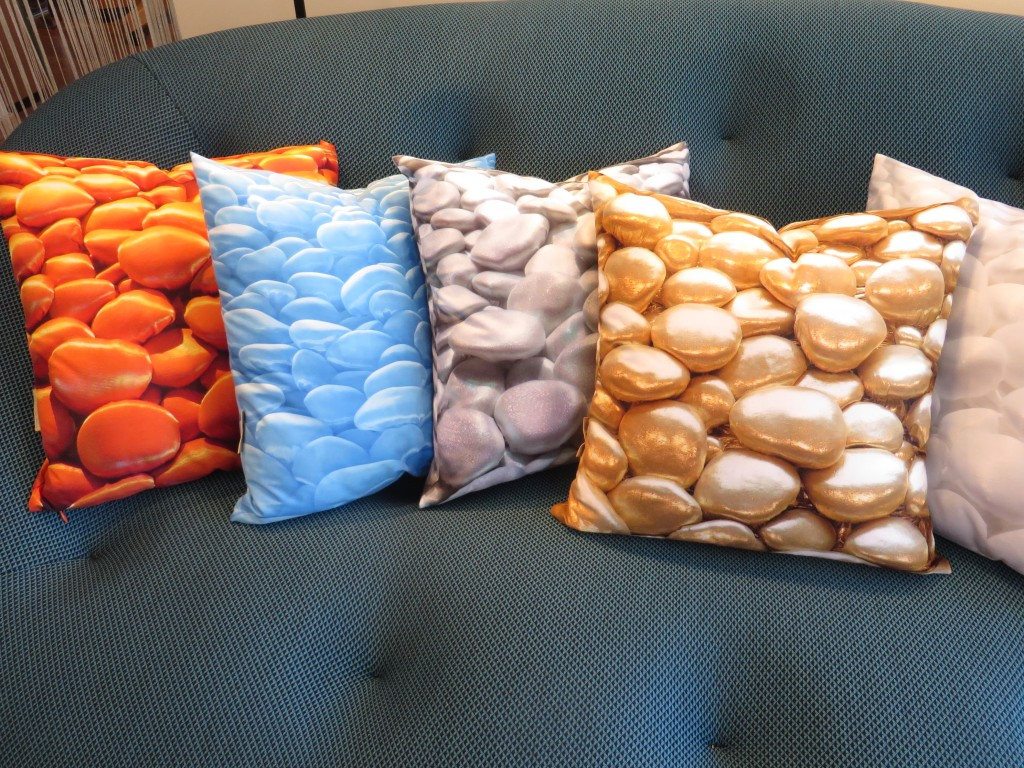 3D Decorative Pillows by Liivi Leppik
