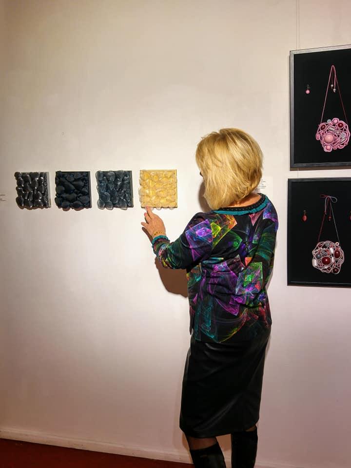 3D-kivikangad Pärnu näitusel, 2020, Liivi Leppik